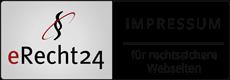 erecht24 schwarz impressum klein